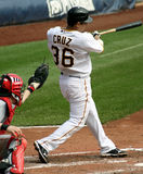 Luis Cruz i pirati di Pittsburgh Immagine Stock