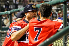 Luis Dorante and Angel Aguilar, Charleston RiverDogs Stock Photo