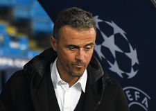 Luis Enrique Royalty Free Stock Image