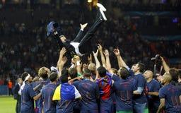 Luis Enrique FC Barcelone Lizenzfreie Stockbilder