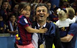 Luis Enrique FC Barcelone Lizenzfreies Stockfoto