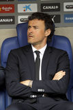 Luis Enrique Martinez manager of FC Barcelona Stock Photos