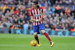 Luis Filipé  d Atletico Madrid Stock Photography