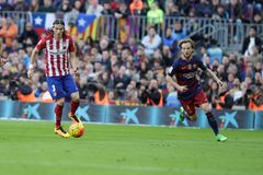 Luis Filipé  d Atletico Madrid Stock Images