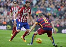 Luis Filipé  d Atletico Madrid Royalty Free Stock Images