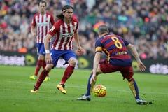 Luis Filipé  d Atletico Madrid Stock Photo