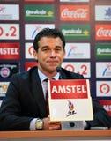 Luis Garcia Plaza. Coach of Levante U.D team Stock Photography