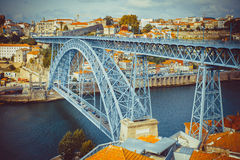Luis I Bridge Royalty Free Stock Photography