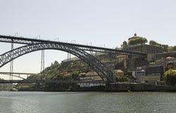 Luis I Bridge, Porto. Luis I Bridge over the River Douro Royalty Free Stock Image