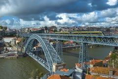 Luis I Bridge in Porto, Portugal Royalty Free Stock Photography