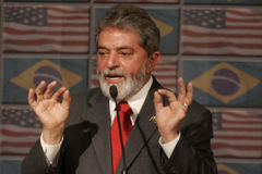 Luis Inacio Lula da Silva Lizenzfreies Stockfoto