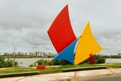 luis maranhao pomnik wypływa sao Obrazy Stock