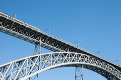 Luis most w Porto, Portugalia Fotografia Stock