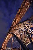 luis porto dom моста стоковое изображение rf