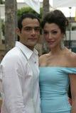 Luis Roberto Guzman and Marie Benes Royalty Free Stock Photo