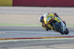 Luis SALOM. Moto2. Grand Prix Movistar of Aragón. Of MotoGP. Aragon, Spain. 27th September 2015 Royalty Free Stock Images