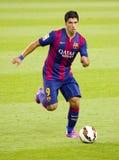 Luis Suarez av FCet Barcelona Arkivfoton