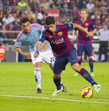 Luis Suarez av FCet Barcelona Royaltyfri Bild