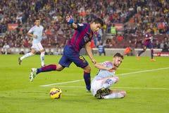 Luis Suarez av FCet Barcelona Royaltyfria Foton