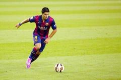 Luis Suarez del FC Barcelona Imágenes de archivo libres de regalías