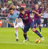 Luis Suarez del FC Barcelona Imagen de archivo libre de regalías