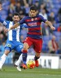 Luis Suarez del FC Barcelona fotografía de archivo