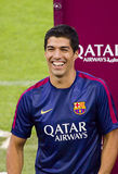 Luis Suarez do FC Barcelona Fotografia de Stock Royalty Free