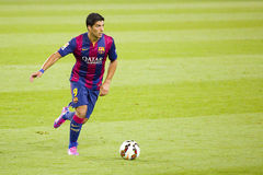 Luis Suarez do FC Barcelona Foto de Stock