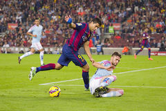 Luis Suarez FC Barcelona Zdjęcia Royalty Free