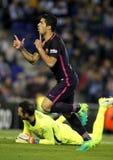 Luis Suarez of FC Barcelona Stock Photo