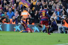 Luis Suarez of FC Barcelona Royalty Free Stock Images