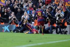 Luis Suarez of FC Barcelona Stock Photos