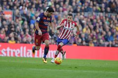 Luis Suarez of FC Barcelona Royalty Free Stock Photography