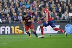 Luis Suarez of FC Barcelona Stock Image