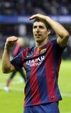 LUIS SUAREZ FC BARCELONE Stockfoto