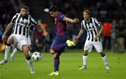 LUIS SUAREZ FC BARCELONE Stockfotografie