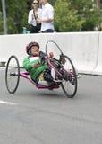 Luisa Morales dans les jeux de ParaPan AM - Toronto le 8 août 2015 images libres de droits