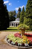 Luisa spring pavilion - Frantiskovy Lazne - Czech Republic Stock Images
