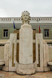 Luisa Todi Statue - Setubal. The statue od Luisa Todi in Setubal, Portugal. She was a popular and successful Portuguese mezzo-soprano opera singer of the 1819 Royalty Free Stock Images