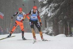 Luise Kummer - biathlon Royalty Free Stock Images