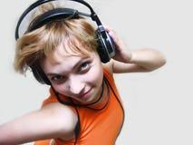 Luister aan het ritme Stock Afbeelding