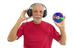 Luister Muziek stock afbeelding