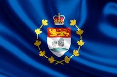 Luitenant-gouverneur van de vlagillustratie van Prins Edward Eilanden royalty-vrije illustratie