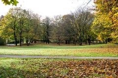Luitpold parkowy pobliski Olimpijski park w Monachium Niemcy - Bavaria - zdjęcia stock