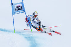 LUITZ Stefan in Audi Fis Alpine Skiing World-Kop Men's Reuzes Stock Afbeeldingen