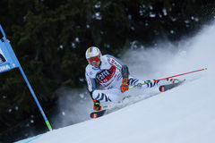 LUITZ Stefan in Audi Fis Alpine Skiing World-Schale Men's riesiges S stockbild