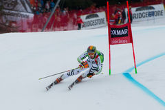 LUITZ Stefan (GER). Alta Badia, ITALY 22 December 2013. LUITZ Stefan (GER) competing in the Audi FIS Alpine Skiing World Cup MEN'S GIANT SLALOM Stock Image