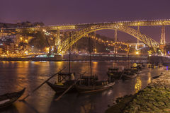 Luiz Ι γέφυρα στο Πόρτο Στοκ φωτογραφία με δικαίωμα ελεύθερης χρήσης
