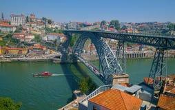 Luiz Bridge in Porto Lizenzfreie Stockbilder
