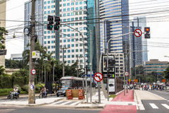 Free Luiz Carlos Berrini Avenue Royalty Free Stock Photo - 66516915